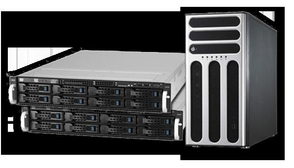 Server Asus e HP a Vicenza